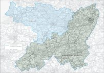 Somerton and Frome Constituency Map 2017