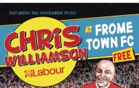 Chris Williamson at Frome Town FC