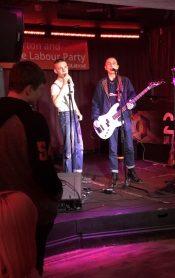 anti-austerity gig Stanton Plc 23 Bath Street